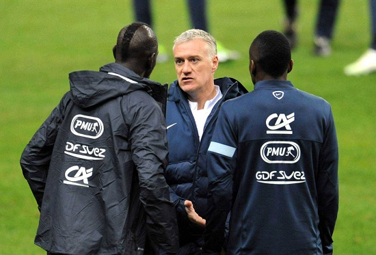 Didier Deschamps, c.t. della Francia (Infophoto)