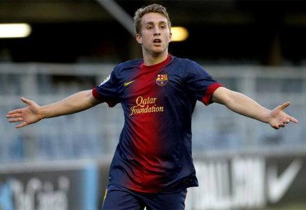 Gerard Deulofeu, 20 anni, torna a Barcellona dopo l'anno all'Everton