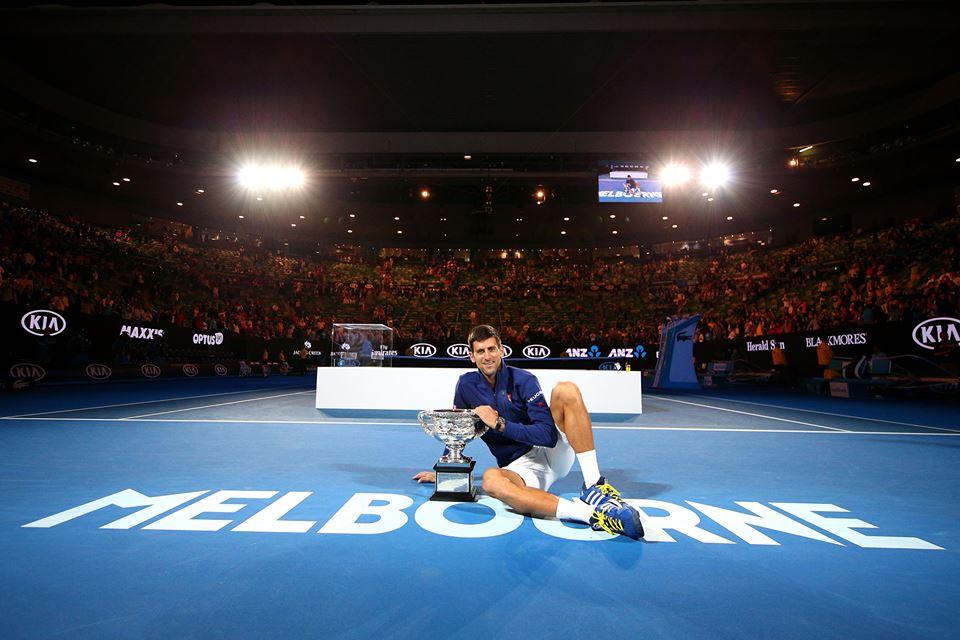 Novak Djokovic, 28 anni (Infophoto)