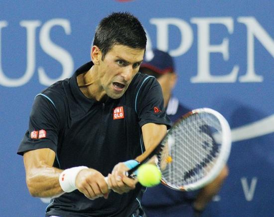 Novak Djokovic, 26 anni (Infophoto)