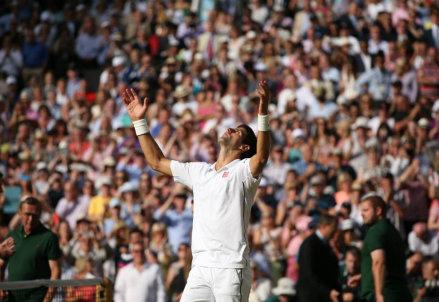 Novak Djokovic, 27 anni: settimo titolo Slam, secondo a Wimbledon