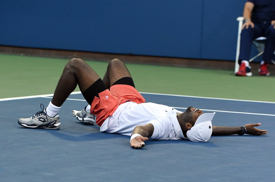 Donald Young, 26 anni (dall'account ufficiale facebook.com/usopentennis)