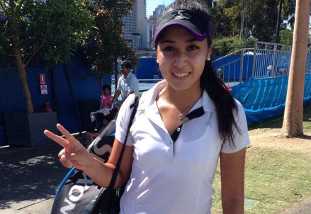Zarina Diyas, 21 anni il prossimo sabato, è kazaka (Almaty)