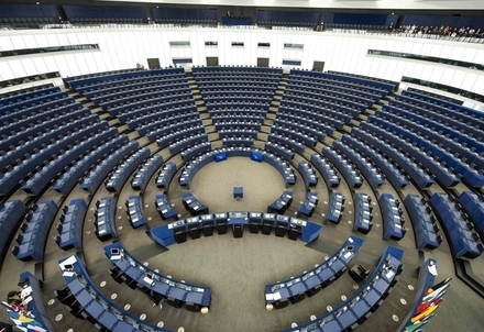 Il Parlamento europeo (Infophoto)