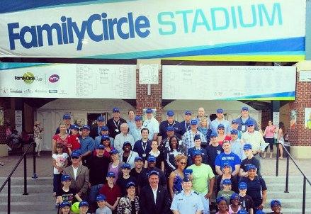 Foto di gruppo per gli addetti ai lavori di Charleston, South Carolina