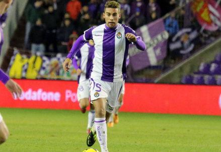 Fausto Rossi, 23 anni, prima stagione nel Valladolid