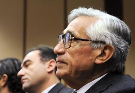L'ex governatore Bankitalia Antonio Fazio
