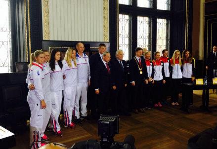 Repubblica Ceca e Germania alla cerimonia del sorteggio
