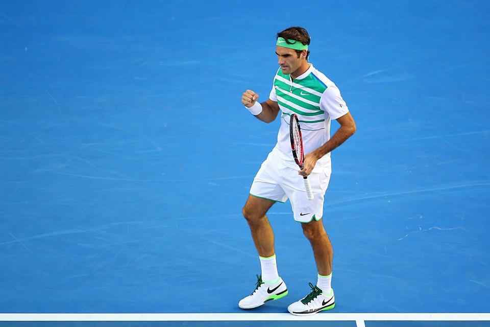 Roger Federer, 34 anni (dall'account ufficiale facebook.com/AustralianOpen)