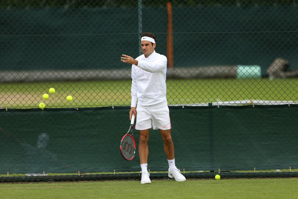 Roger Federer, 33 anni (dall'account ufficiale facebook.com/wimbledon)