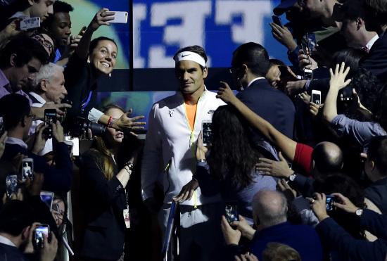 Roger Federer, 33 anni (Infophoto)