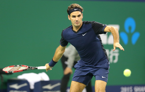 Roger Federer, 34 anni, numero 3 del ranking ATP (Infophoto)