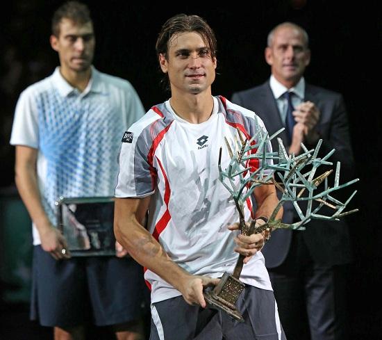 David Ferrer, 32 anni, numero 7 del ranking ATP (Infophoto)