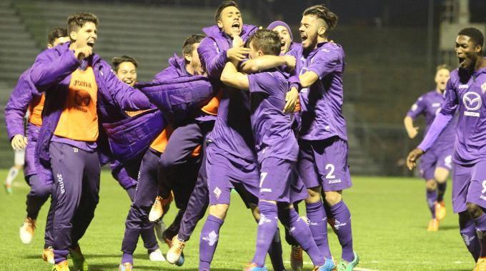 La Fiorentina Primavera esulta