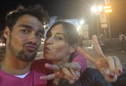 Fabio Fognini (26 anni) e Flavia Pennetta (32)
