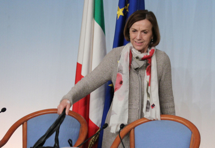 Il Ministro del lavoro Elsa Fornero (Infophoto)