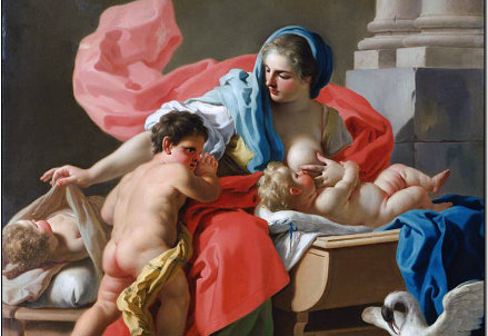 Francesco de Mura, Allegoria della carità (Immagine d'archivio)