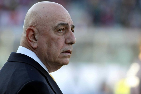 Adriano Galliani, ad del Milan (Infophoto)