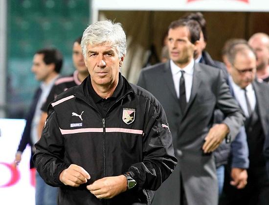 Gian Piero Gasperini, tornato sulla panchina del Palermo (Infophoto)