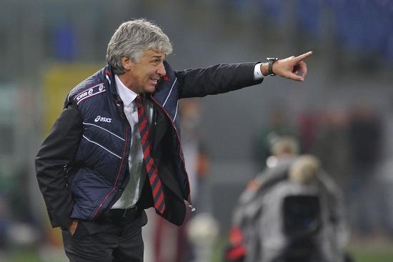 Gian Piero Gasperini, allenatore del Genoa (Infophoto)