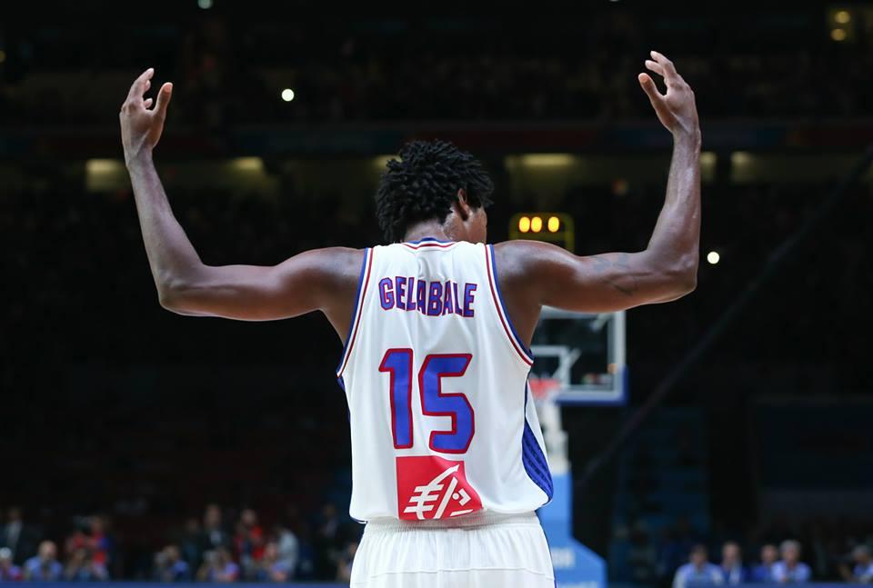 Mickael Gelabale, 32 anni (dall'account ufficiale facebook.com/FIBA)