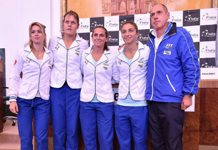 (dall'account facebook.com/FedCup)