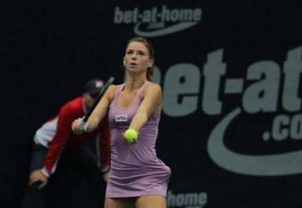 Camila Giorgi, 22 anni (dall'account facebook.com/WTA.Linz)