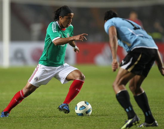 Giovani Dos Santos, 23 anni, gioca nel Mallorca (Infophoto)