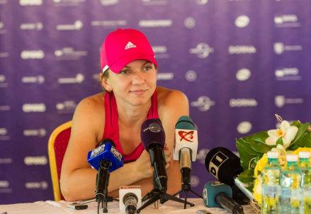 Simona Halep, 23 anni, attualmente numero 4 del ranking WTA (Infophoto)