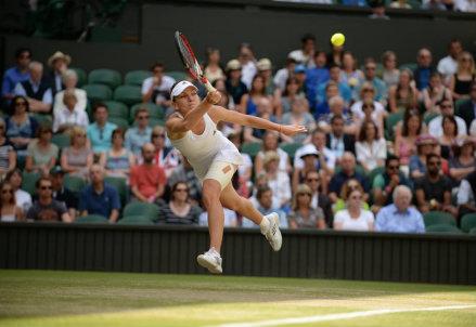 Simona Halep, 22 anni, numero 3 del ranking WTA: prima semifinale a Wimbledon