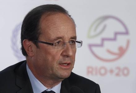 François Hollande (Infophoto)