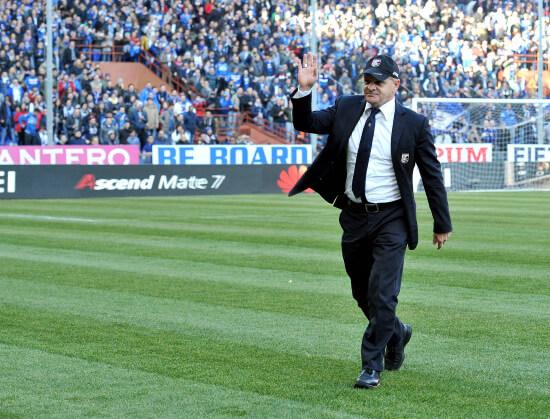 Beppe Iachini, allenatore Palermo (Foto Infophoto)
