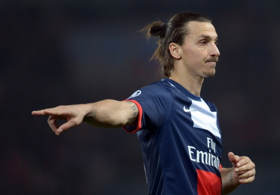 Zlatan Ibrahimovic, 33 anni, (INFOPHOTO)