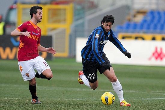 Inter-Roma è il big match di questa sera (Infophoto)