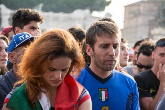 Delusione azzurra: l'Italia è fuori dai Mondiali (Infophoto)