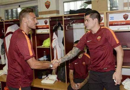 Iturbe e Totti, possibili titolari oggi