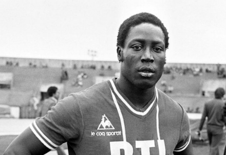 Jean Pierre Adams quando giocava a calcio