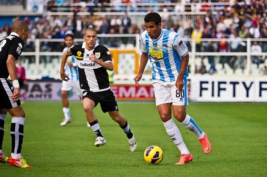 Jonathas ai tempi del Pescara (Infophoto)