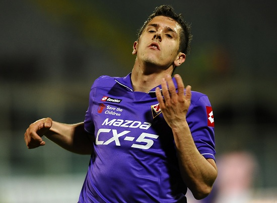 Stevan Jovetic aprirà la serie A 2012-2013 (Infophoto)