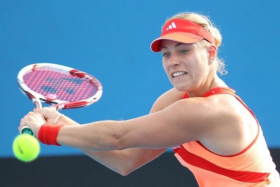 Angelique Kerber, 25 anni, numero 6 del ranking WTA (Infophoto)