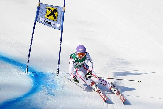 Michaela Kirchgasser: nemmeno oggi l'Austria ha vinto l'oro (Infophoto)
