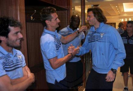 Federico Marchetti accoglie il ritorno di Miroslav Klose