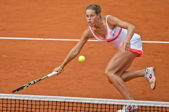 Karin Knapp, 26 anni, numero 48 WTA (Infophoto)