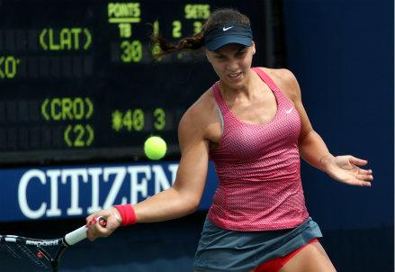 Ana Konjuh, secondo Slam juniores dopo Melbourne (Infophoto)