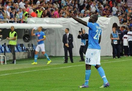Koulibaly, difensore Napoli (Infophoto)