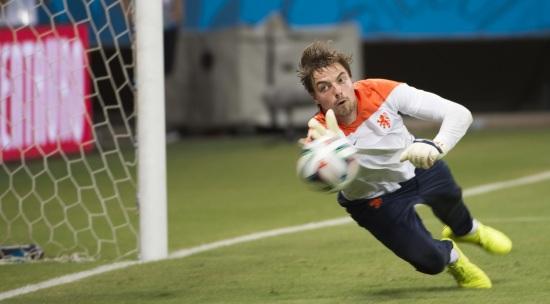 Tim Krul, 26 anni, portiere del Newcastle e della nazionale olandese (Infophoto)