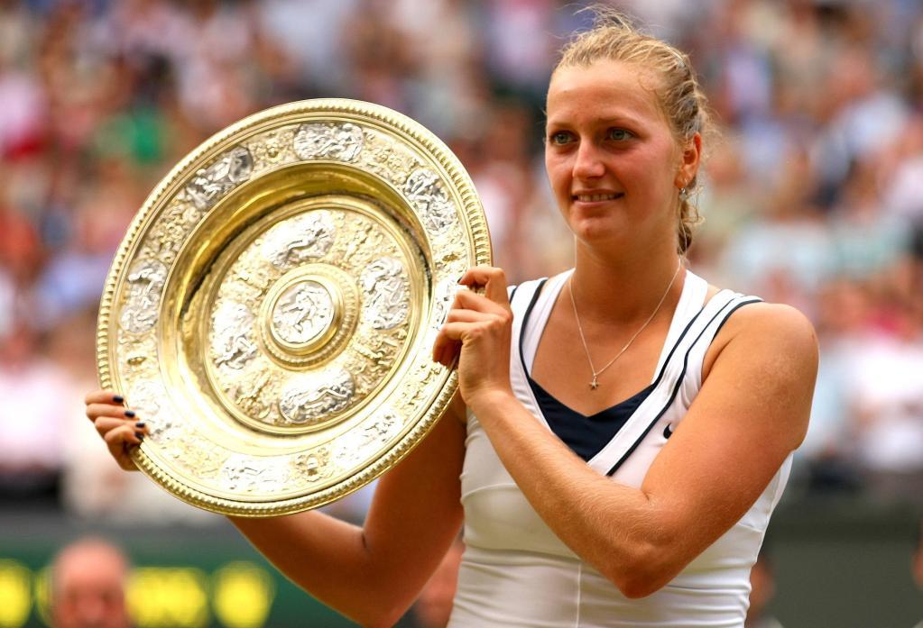 Petra Kvitova, 24 anni, ha vinto due volte Wimbledon (Infophoto)