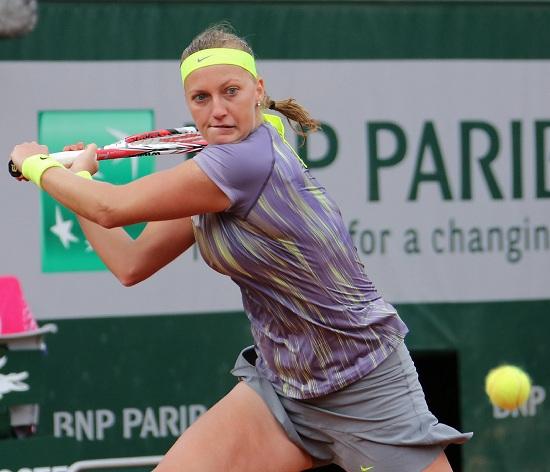 Petra Kvitova, 24 anni (Infophoto)