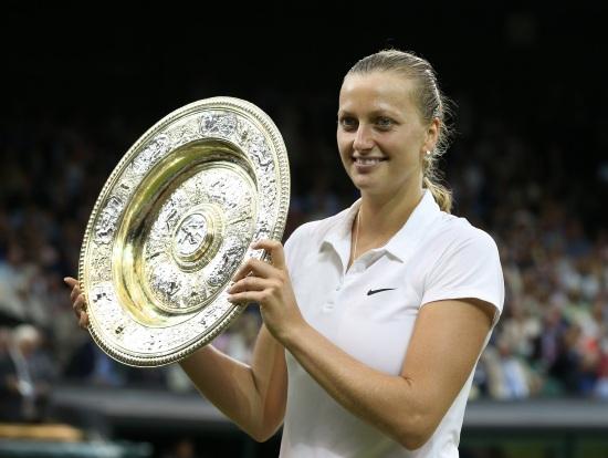 Petra Kvitova (24 anni) campionessa in carica di Wimbledon (Infophoto)