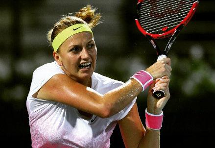 Petra Kvitova, 24 anni, 15 titoli in carriera